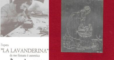 "Opera d'Arte ""La Lavanderina"" del Maestro Luigi Poletti"